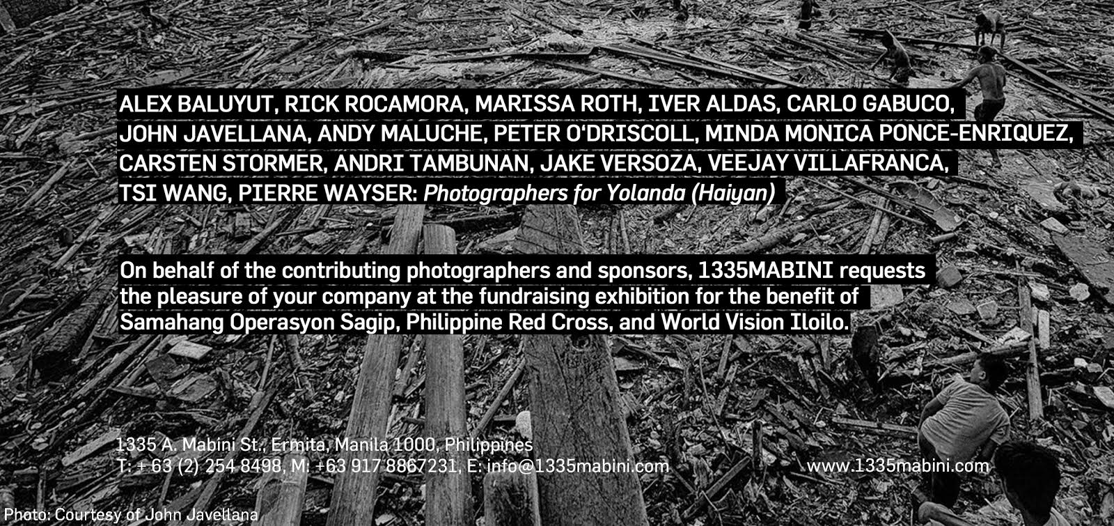 Photographers for Yolanda (Haiyan)
